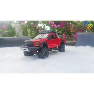 Xe Mô Hình Ford F150 Raptor 1:24 Maisto (Đỏ)