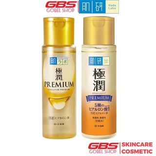 Nước Hoa Hồng Dưỡng Ẩm Tối Ưu Hada Labo Gokujyun Super Hyaluronic Acid Premium Essence Vàng Nhật Bản 170ml thumbnail