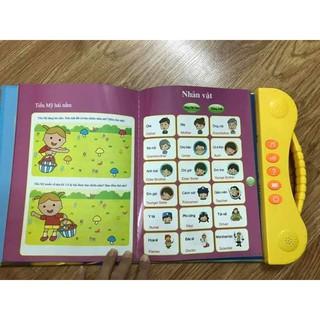 [ MÓN QUÀ CHO CON ] Sách Nói Điện Tử Song Ngữ Anh- Việt Giúp Trẻ Học Tốt Tiếng Anh