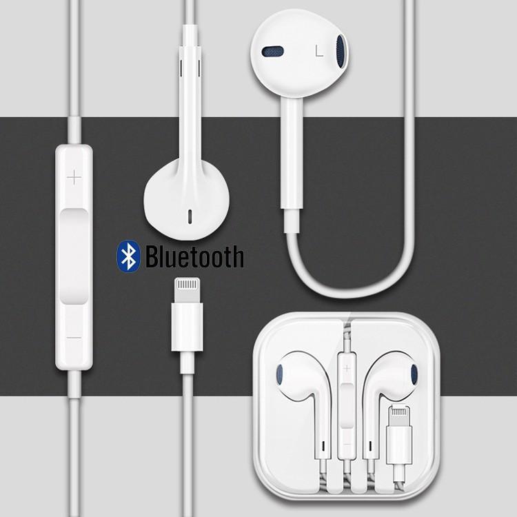 Tai nghe nhét tai BLUETOOTH chân cắm lightning Ip7/8/X phiên bản mới nhất 2019 bảo hành 12 tháng IPHONE 7/8/X NEW