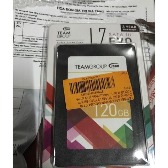 Ổ cứng SSD 120GB TEAM L7 EVO Sata III - Hãng phân phối chính thức