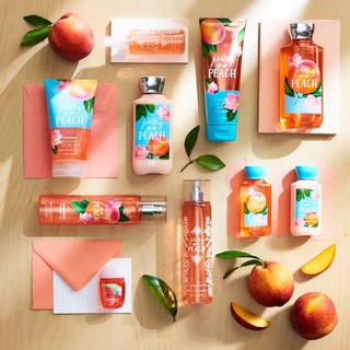 [Auth] Sản Phẩm Tắm Dưỡng Xịt Thơm Toàn Thân Lưu Hương Mịn Da Bath & Body Works - Pretty As A Peach thumbnail