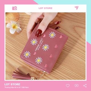 Ví nữ mini cao cấp MADLEY ngắn cute dễ thương nhỏ gọn bỏ túi thời trang giá rẻ LOT STORE VD420 thumbnail