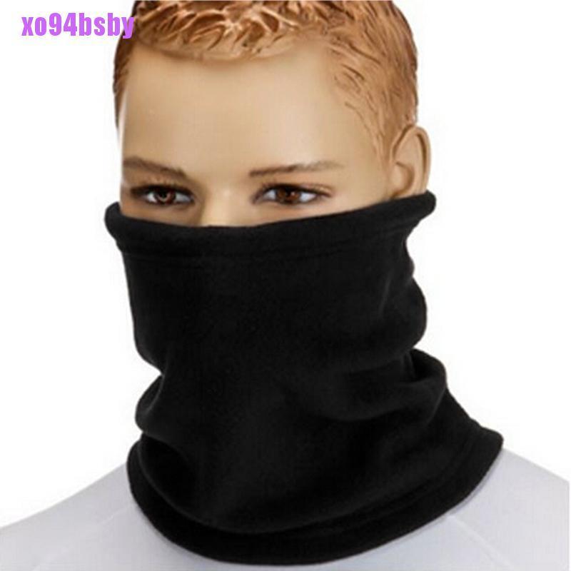 [xo94bsby]Women Thermal Warm Fleece Scarf Snood Scarf Neck Warmer Beanie Ski Balaclava Hat