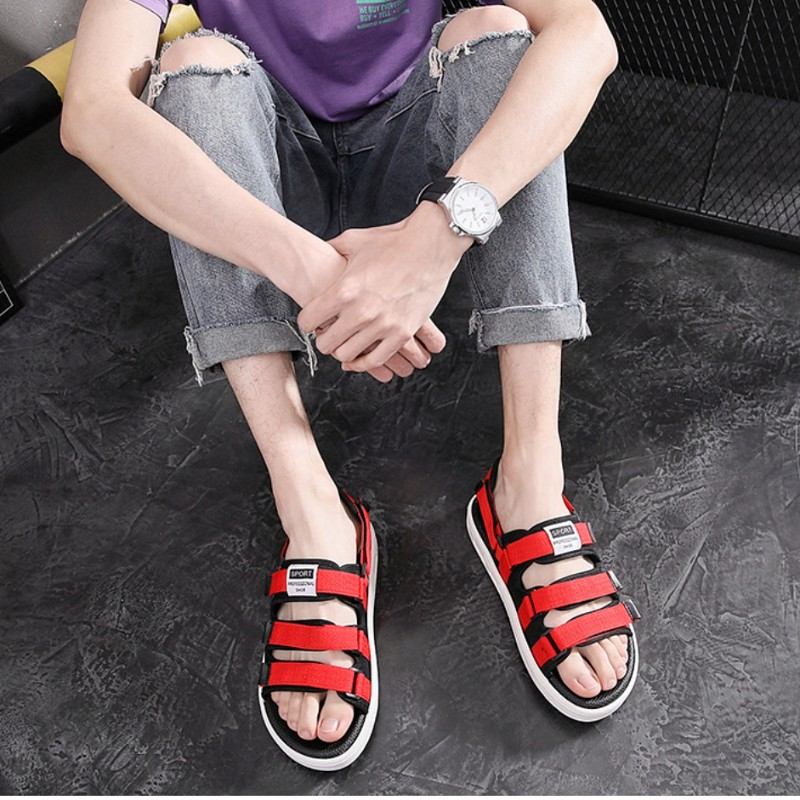 Sandal quai ngang Unisex cao cấp