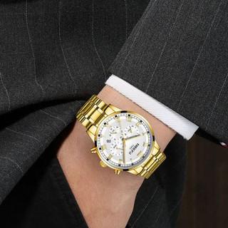 [Tặng vòng tay] Đồng hồ nam NIBOSI chính hãng NI2339.04 fullbox lịch lãm thời thượng