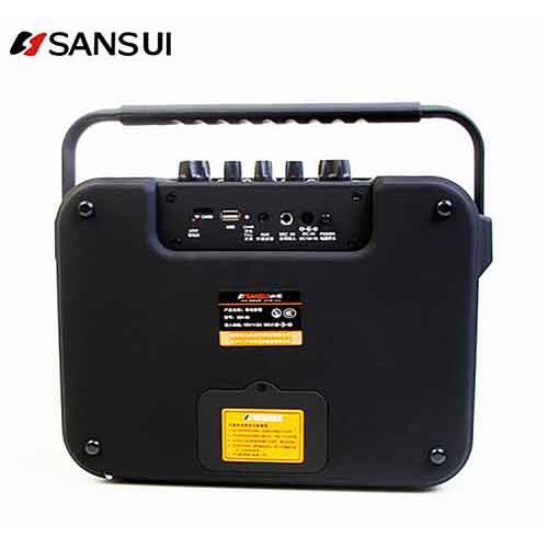 Loa kéo di động mini Sansui SS1-06 Hàng chính hãng, Loa bluetooth công suất lớn + Tặng 1 micro