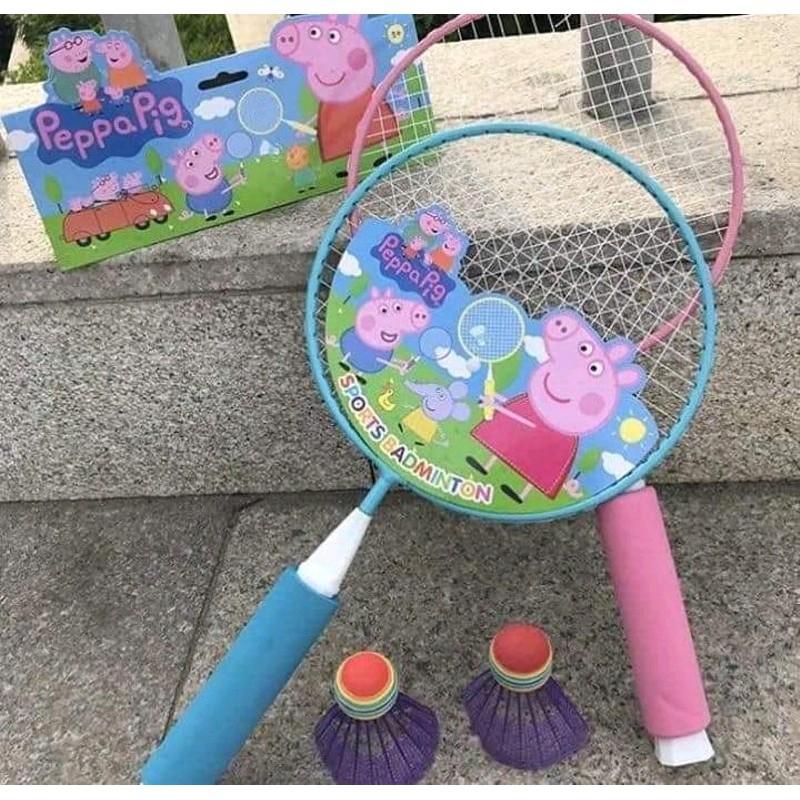 Bộ vợt cầu lông hoạt hình năng động cho bé yêu | Shopee Việt Nam