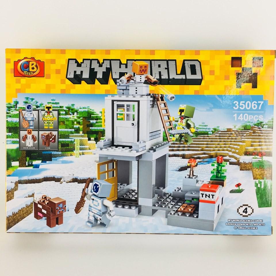 Lego My World. Đồ chơi Ghép Hình Thông Minh