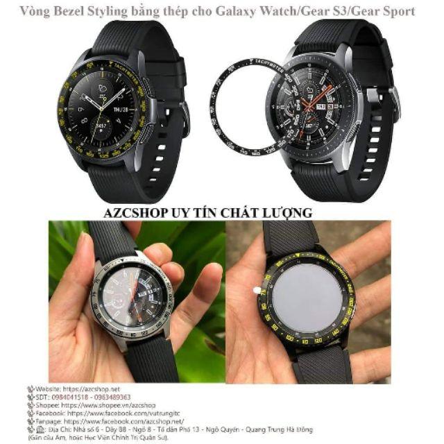Vòng Bezel Styling Thép Galaxy Watch Gear S3 Gear Sport | SaleZone Store
