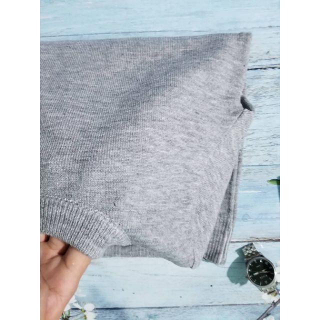 Combo áo len nam cổ tròn kèm 5 đôi tất nam - Áo len
