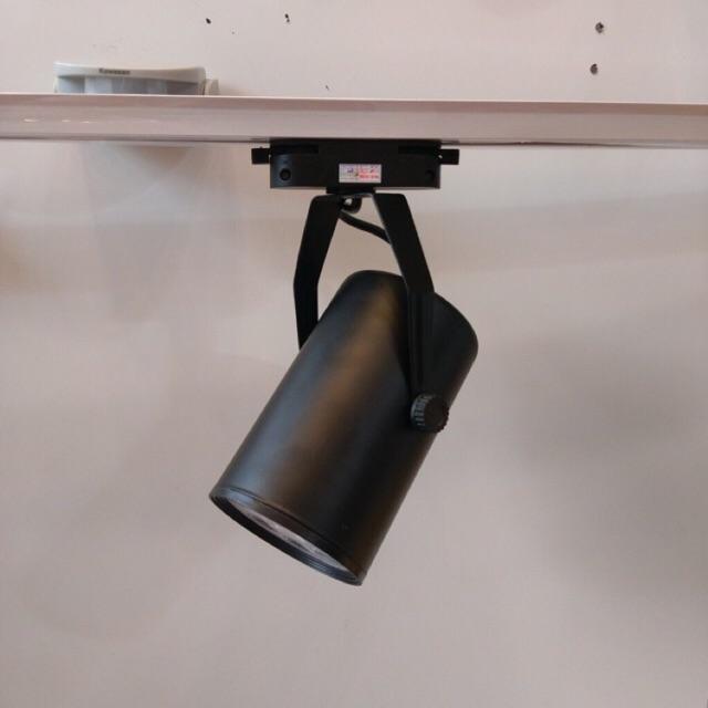 Đèn rọi ray trang trí cửa hàng 7w vỏ đen (công suất thông dụng)