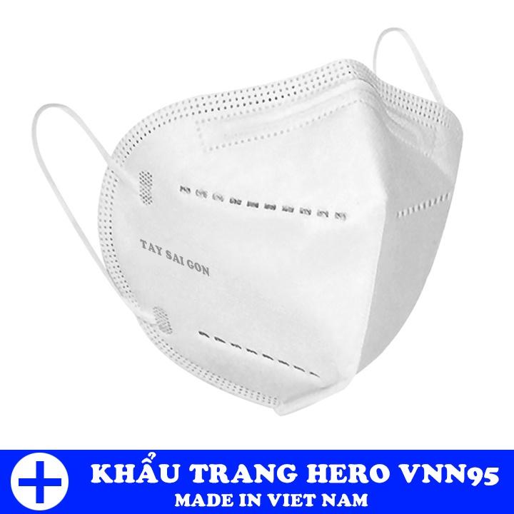 Chỉ Ship TPHCM) Hộp 5 khẩu trang thiết kế 5 lớp kháng khuẩn cao cấp HERO  VNN95   Shopee Việt Nam