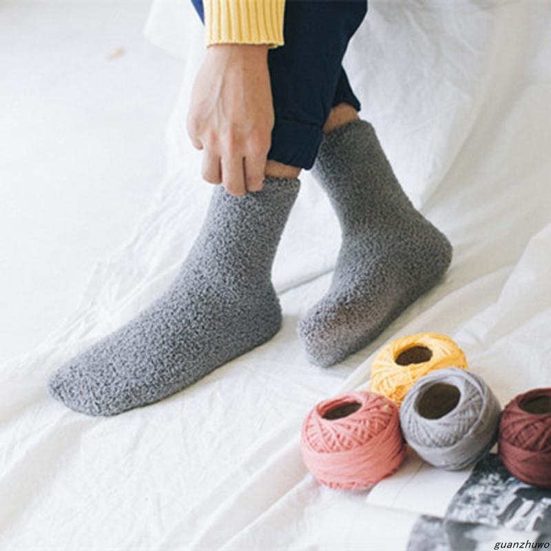 (กลุ่ม 3/6 คู่) สีทึบของผู้ชายคนใหม่ครึ่งถุงเท้ากำมะหยี่ถุงเท้าชีวิตชั้นถุงเท้าก