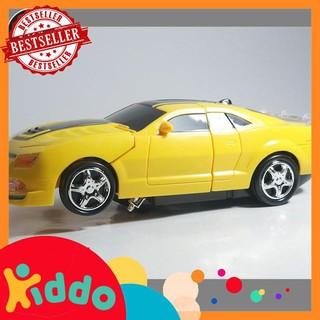 [đồ chơi trẻ em] Hộp đồ chơi xe hơi ô tô biến hình robot Transform