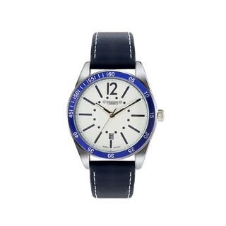 Đồng hồ nam JAH-080A Julius Home Hàn Quốc dây da (Đen)