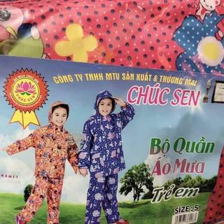 Bộ Quần áo mưa Trẻ em A1