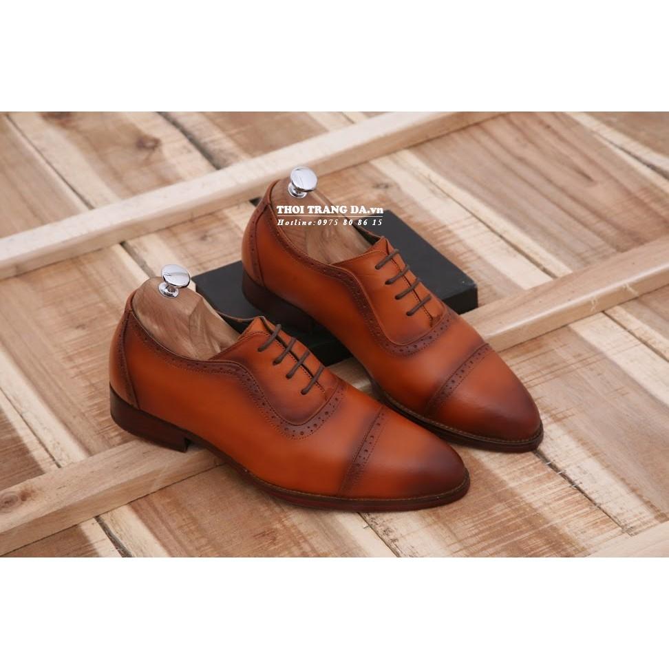 Giày tây da thật sang trọng, lịch lãm