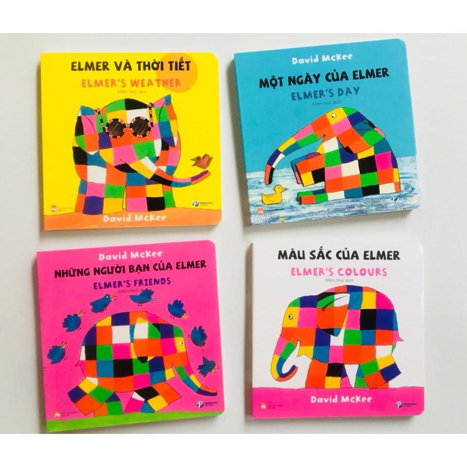 Sách Elmer cho bé 0-3 tuổi