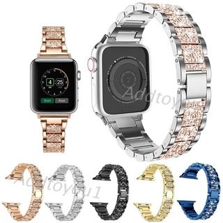 Dây Đeo Kim Loại Đính Đá Cho Đồng Hồ Thông Minh Apple Watch