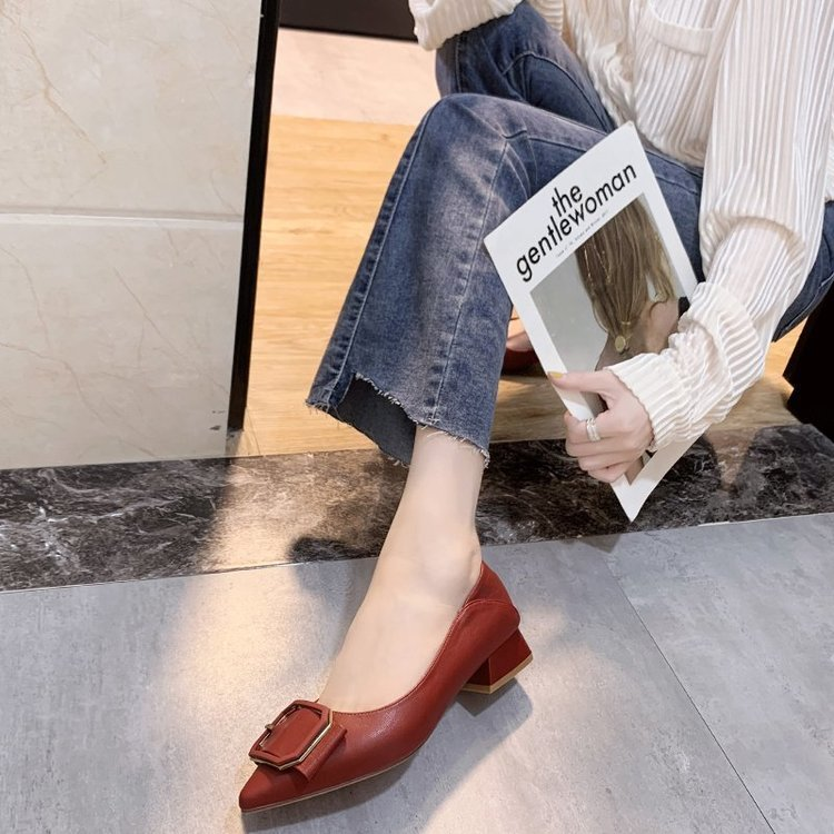 Giày Nữ Đế Bằng Kiểu Dáng Hàn Quốc