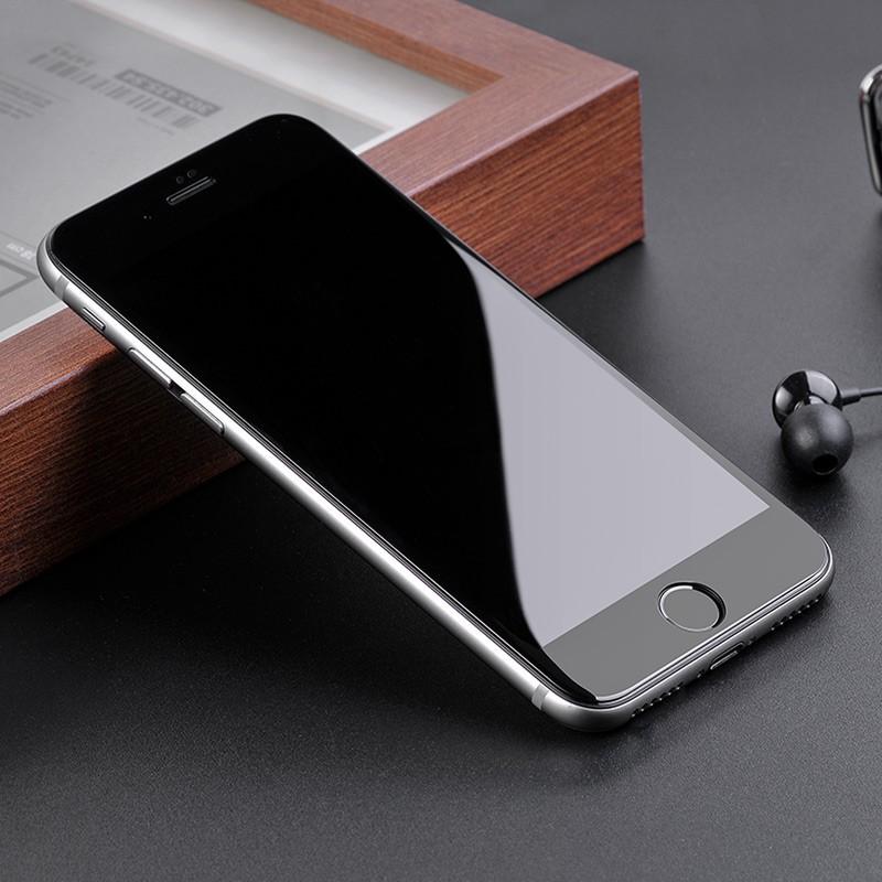 Kính cường lực iPhone 10D ⚡️ Nền xanh Full Màn Tràn Viền 6 6S 7 8 Plus X XS XR XS MAX 11 PRO MAX