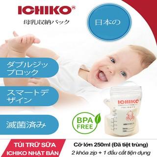 Túi Đựng Sữa Nhật Bản ICHIKO 250ml 1