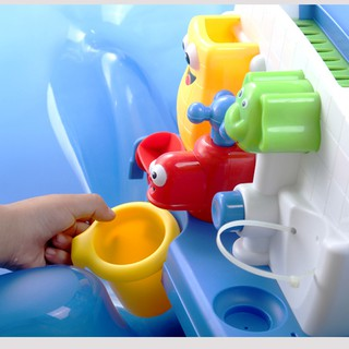 Water Faucet Water-spraying Shower Head Baby Kid Funny Bathing Water Toy