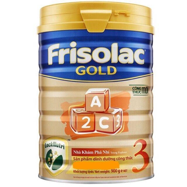 Sữa bột Frisolac gold 3 900g