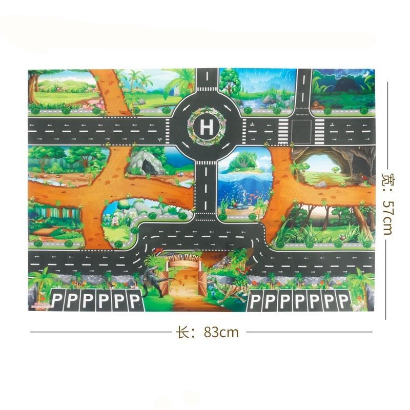 Mô Hình Xe Hơi Đồ Chơi 83x58cm Cho Bé