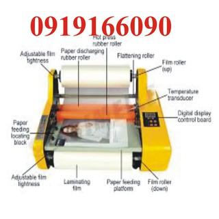 Máy cán màng A3 FM3510 cán 2 mặt tự động