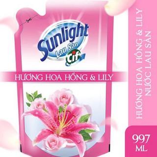 Yêu ThíchNước Lau Sàn Sunlight Hương Lily/ Diên vỹ/Trắng Dạng Túi 1kg