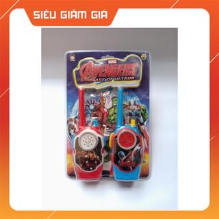 [SIÊU HOT] Vỉ Đồ Chơi 2 Bộ Đàm Avenger Siêu Anh Hùng Dũng Mãnh Super Heroes – Đồ Chơi Trẻ Em