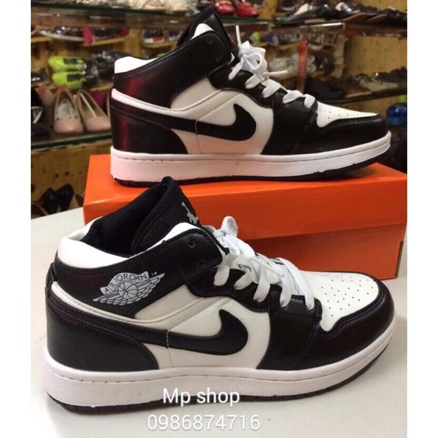 [FULLBOX] Giày Jordan 1 đen trắng size 36-44