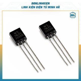 IC Nguồn 78L05 TO92 0.1A 5V (5 chiếc)