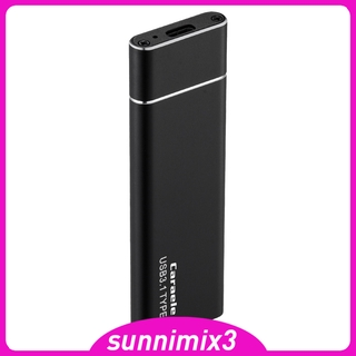[Kayla Computing Shop]Portable SSD USB3.1 SSD Data Transfer Solid State Drive for Phone PC