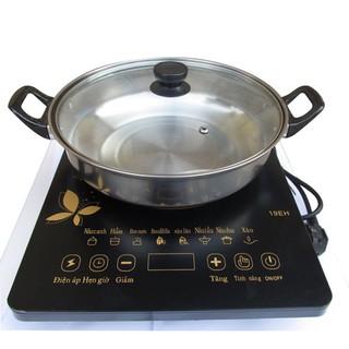 Bếp từ cơ Media MD-BT1820 – Bếp từ ăn lẩu + Tặng kèm nồi