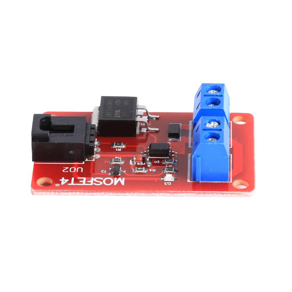 A177 A Electronic Blocks 1 Channel MOSFET Button IRF540+Switch Module Board