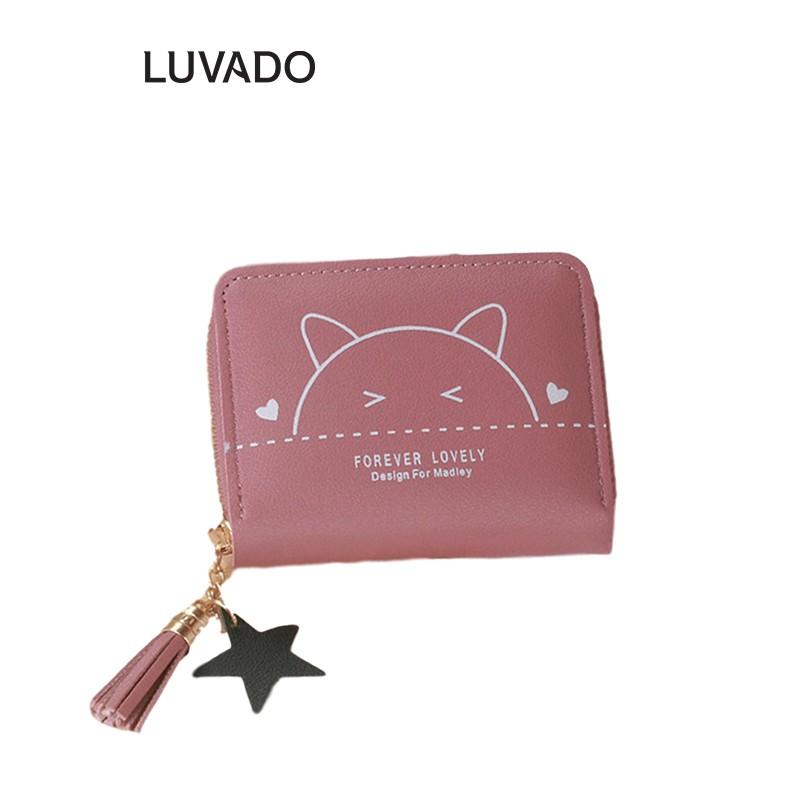 Ví nữ mini cute đẹp cầm tay MADLEY thời trang cao cấp nhỏ gọn bỏ túi VD255