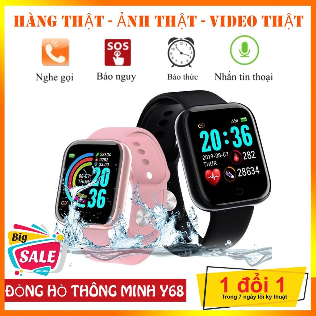 Đồng Hồ Thông Minh Y68 Full Box