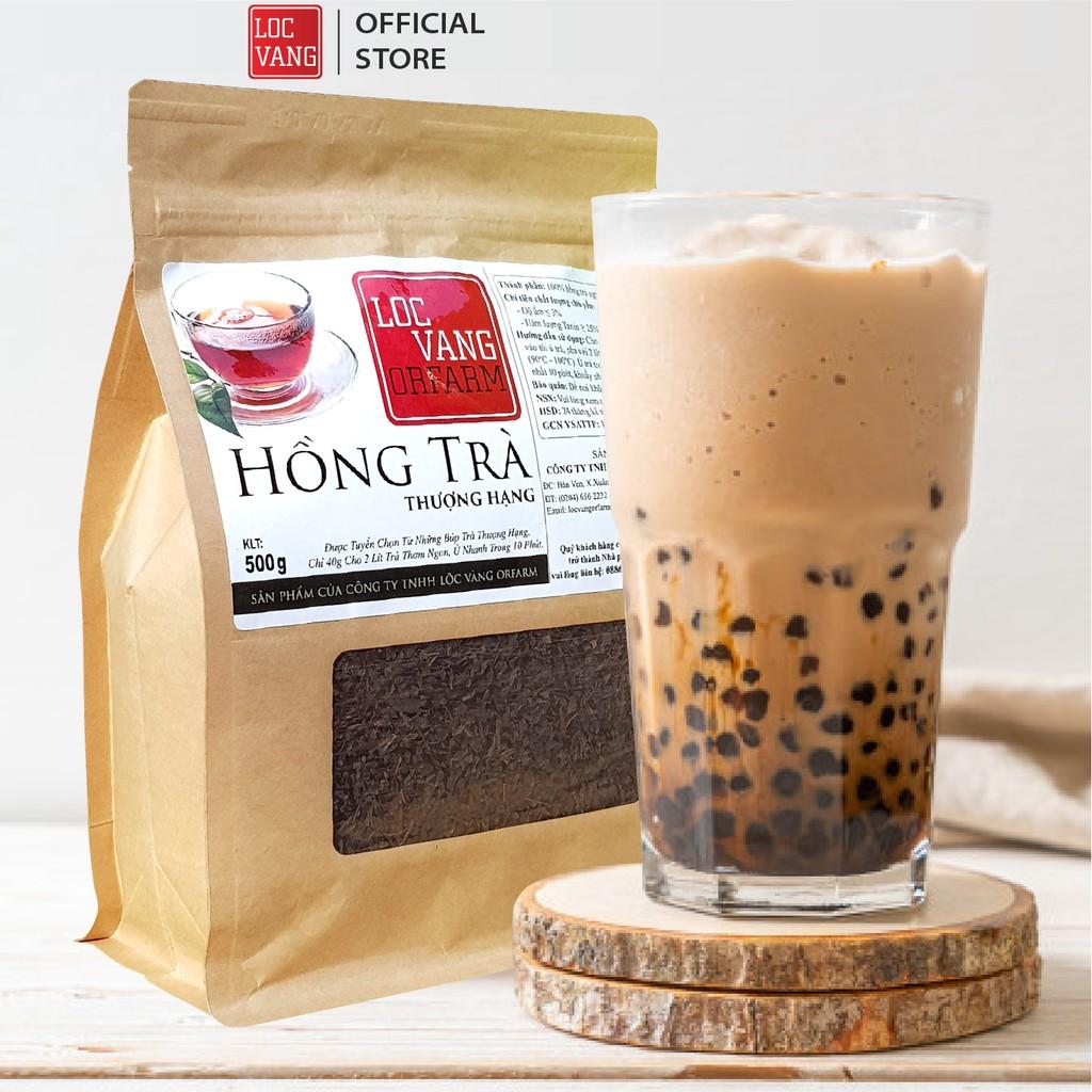 Hồng Trà, Trà Đen Nguyên Liệu Làm Trà Sữa THƯỢNG HẠNG 500g