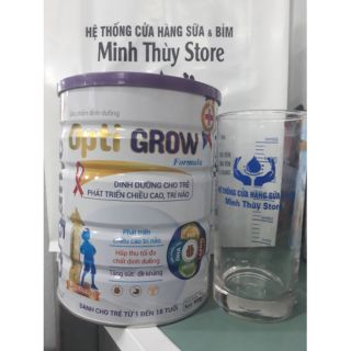 Sữa Opti Grow dành cho trẻ 1-18 tuổi dòng sữa chuyên biệt phát triển chiều cao,trí não,tăng sức đề kháng
