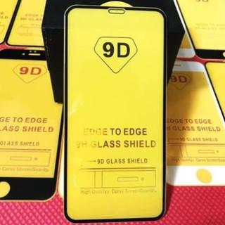 Kính cường lực 9D đế vàng full màn, viền mỏng cho iphone /X/Xs/Xr/Xsmax/11/11Pro/11ProMax