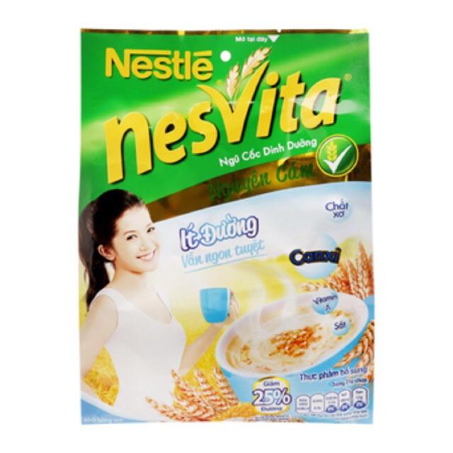 Ngũ Cốc Nesvita ít đường 400g(16 gói * 25g)