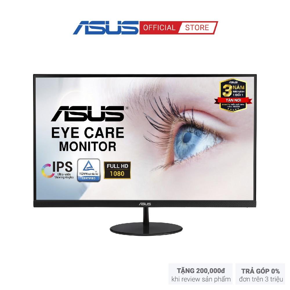 """[Mã ELMALL7 giảm 7% đơn 499K] Màn Hình Siêu Mỏng ASUS VL249HE 24"""" IPS Full HD 2 Loa Siêu Mỏng Bảo Vệ Mắt"""