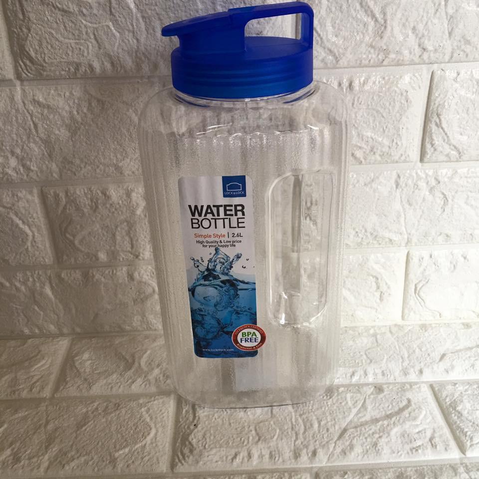 Bình nước nhựa Lock Lock 2.6L