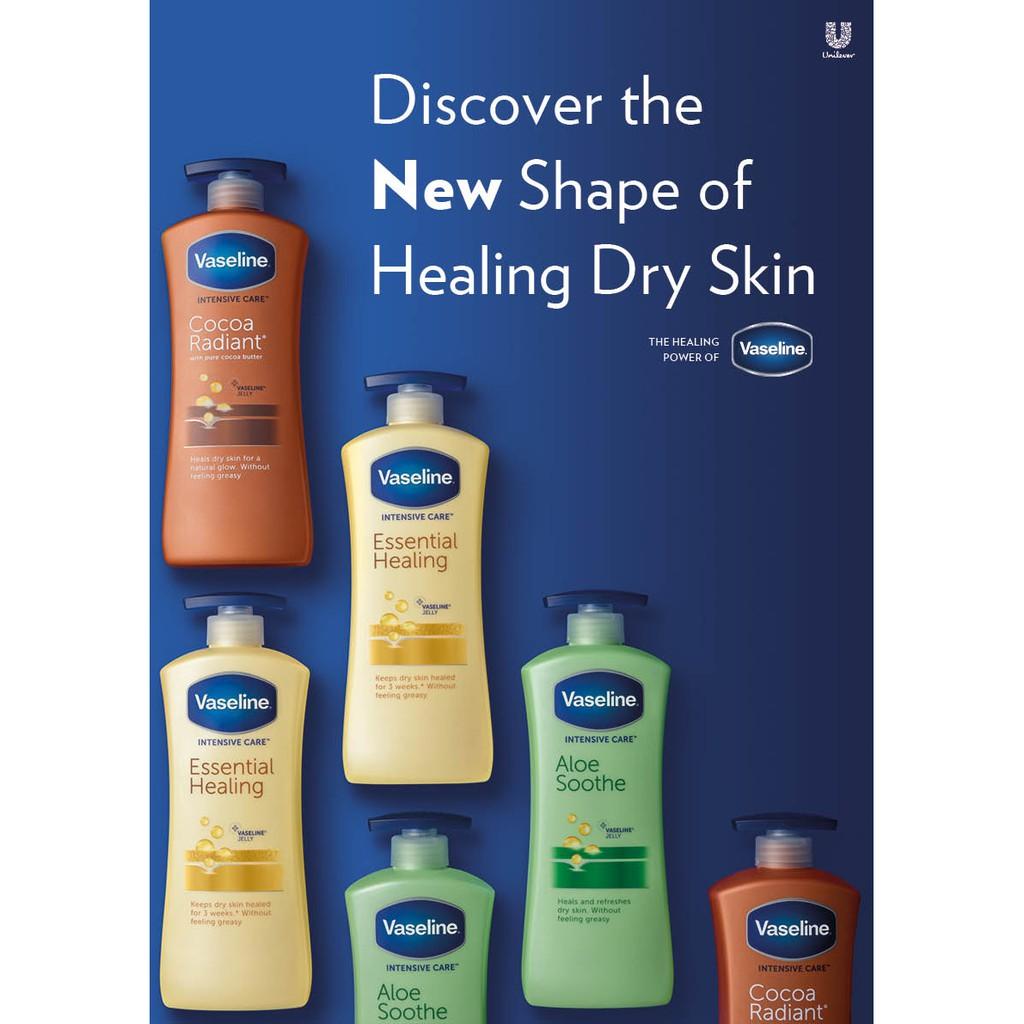 [Nhiều Màu] Sữa dưỡng thể Vaseline ( mẫu mới 2021 )