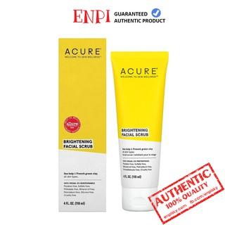 Tẩy da chết sáng da Acure Organics Brightening Facial Scrub