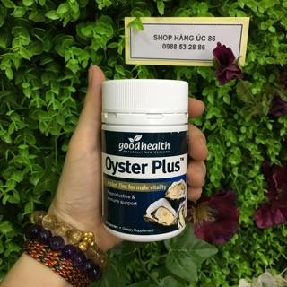 Tinh chất hàu Goodhealth Oyster Plus của New Zealand (60 viên)