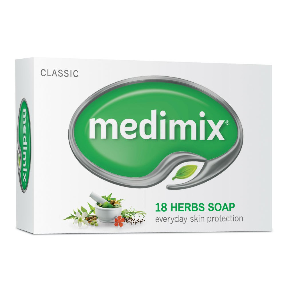 Xà phòng Medimix 18 Loại Thảo Dược Ayurveda Bảo Vệ Da Hàng Ngày 75g